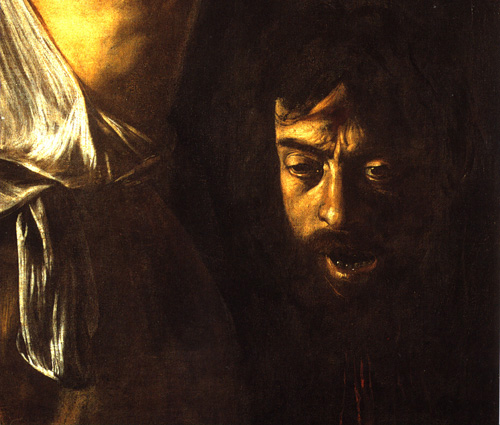 John the baptist by caravaggio