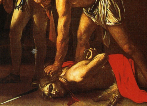 Have advised john the baptist by caravaggio think, that